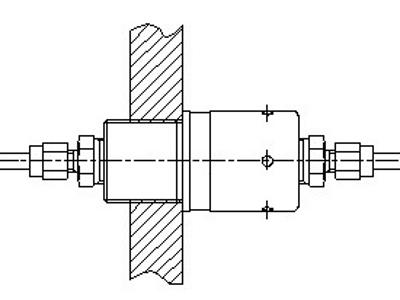 AR-081 ATEX wanddoorvoer
