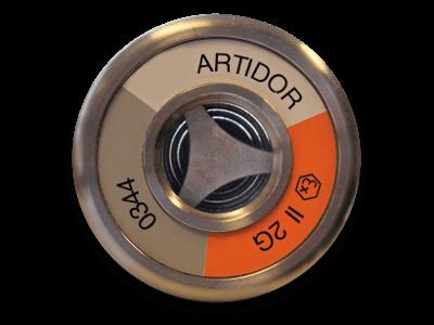 AR-081 ATEX wanddoorvoer front